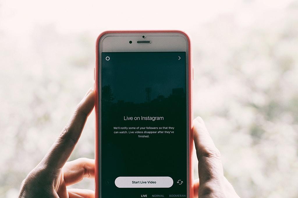 Instagram live video